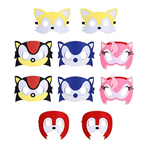 10pcs Hedgehog Sonic Birthday Party Masks For Kids Party Favors Party Supplies Buy Online In Brunei Nb Party Products In Brunei See Prices Reviews And Free Delivery Over Bnd100 Desertcart