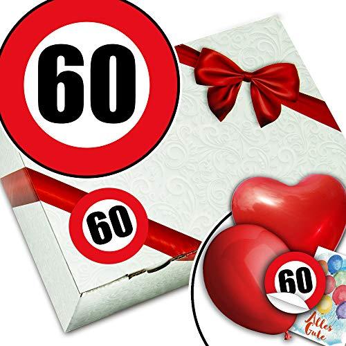 60. Geburtstag Geschenk für Sie - Geschenkkorb - Geschenke 60 Geburtstag Frau