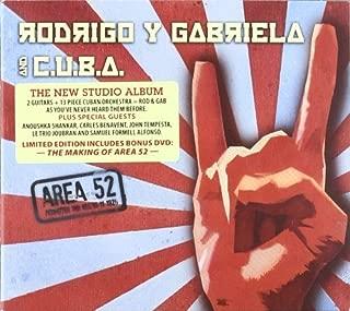 Area 52 -CD+DVD- by Rodrigo Y Gabriela