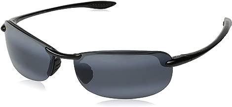 Maui Jim Makaha Reader (Universal Fit) Polarized Gloss Black Rimless Frame Sunglasses