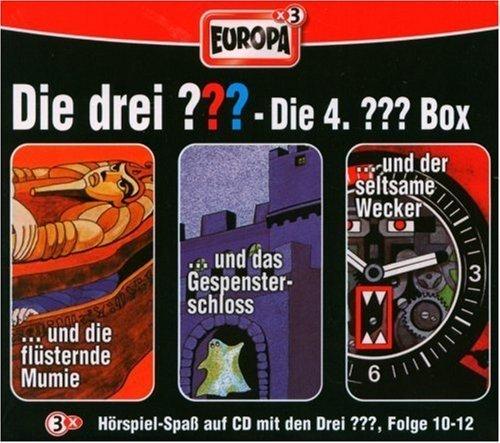 Die drei Fragezeichen - Die 4. Box. Box.4, 3 Audio-CDs