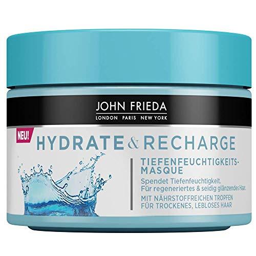 John Frieda Hydrate & Recharge - Kur/Masque - Spendet Tiefenfeuchtigkeit, 1er Pack(1 x 250 milliliters)
