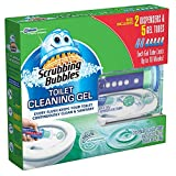 Scrubbing Bubbles Toilet, Rainshower (2 dispensers + 30 Gel Discs)