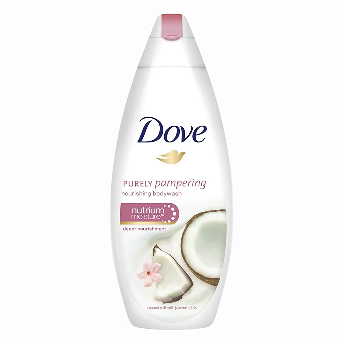 記録インフラ服を片付けるDove Purely Pampering Coconut Milk and Jas Petals Body Wash, 190ml