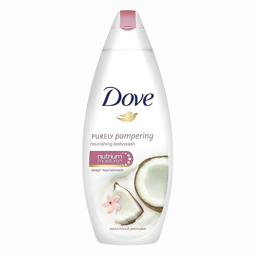 肉腫まろやかなマイクロDove Purely Pampering Coconut Milk and Jas Petals Body Wash, 190ml