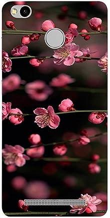 Casotec Pink Flowers Design 3D Printed Hard Back Case Cover for Xiaomi Redmi 3S Prime