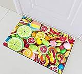 taquxinlaowan Kinder Badezimmer wasserdicht Polyester Duschvorhang Creative Candy Lollipop