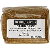 JustIngredients Essential Especias Cajún - 5 Paquetes de 100 gr - Total: 500 gr