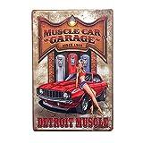 Poster Vintage Signe Plaque Métal Mural Art Café Bar Pub Voiture 20x30cm - #1