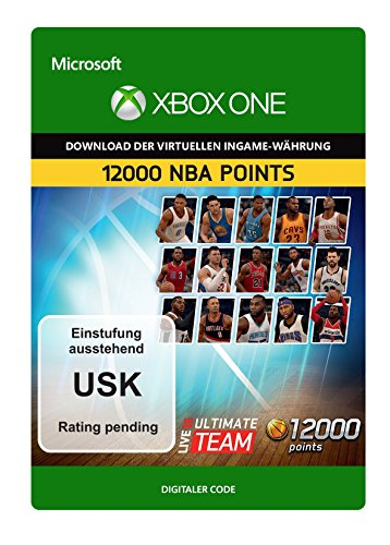 NBA Live 16 LUT 12,000 NBA Points Pack [Xbox One - Download Code]