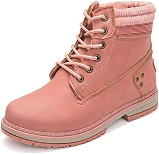 OHQ Martin Botas De Nieve Ni/ñOs Bebe Chicas Invierno Zapatos Calientes Negro Blanco Rojo Gris Rosa Zapatillas De Deporte