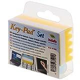 Indafa Key-Pad - Set de limpieza para ordenadores portátiles, color amarillo