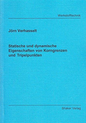 Statische und dynamische Eigenschaften von Korngrenzen und Tripelpunkten