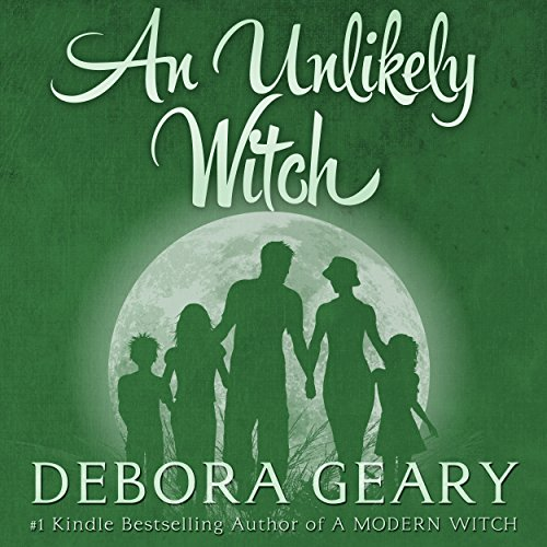 An Unlikely Witch audiobook cover art