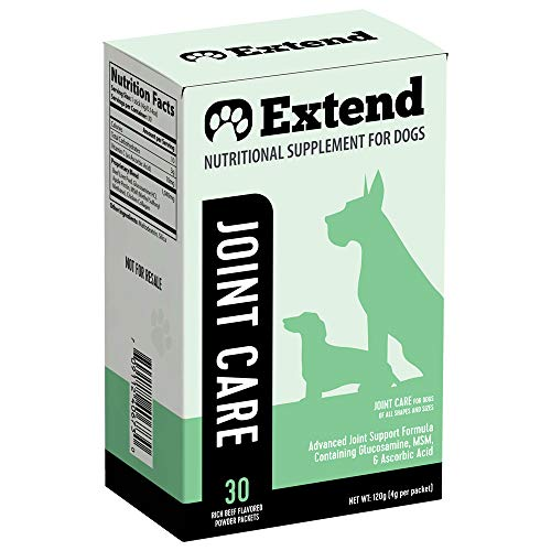 Top 10 best selling list for extend nutritional supplement for dogs ingredients
