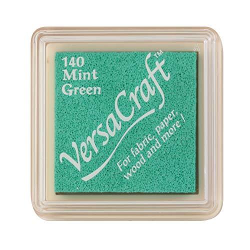 Tsukineko VersaCraft VKS140 - Almohadilla de tinta (tamaño pequeño), color verde menta