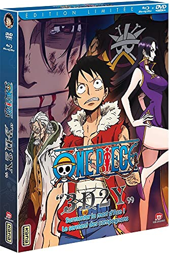 One Piece 3D2Y [Combo Blu-Ray + DVD-Édition Limitée]