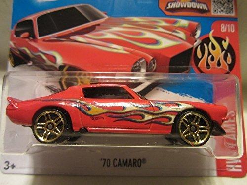 2016 Hot Wheels HW Flames \'70 Camaro 8/10 Short Card by HW