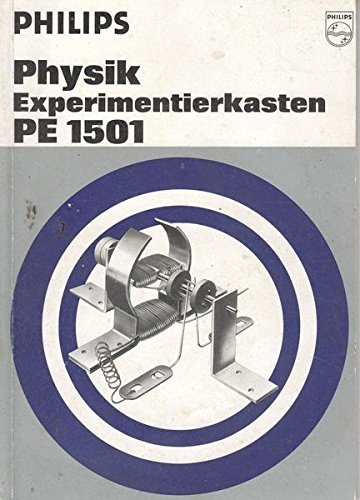 Physik Experimentierkasten RE 1501 Anleitungsbuch