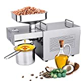 IDABAY 700W Oil Press Machine, Estrattore D'olio Automatico per Uso...