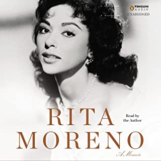 Rita Moreno audiobook cover art