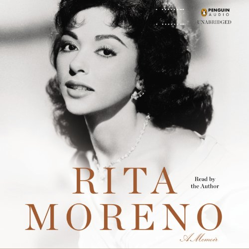 Rita Moreno audiobook cover art