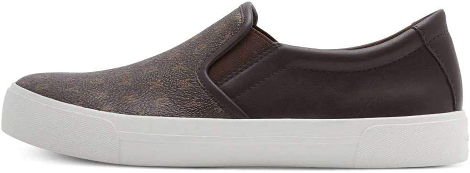 DKNY Womens Bess Low Top Slip On Fashion Sneakers