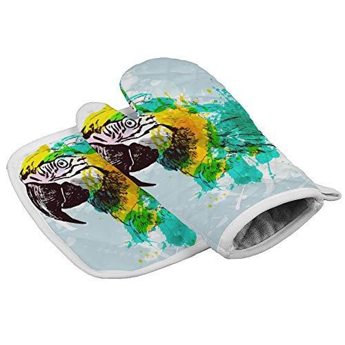 Dor675ser Oven Wanten en pannenlappen (2-delige sets), Logo Symbol Moon Oven Handschoen en Pot Houder Mat Set, Geavanceerde Hittebestendige Oven Mitt, Niet-lip Getextureerde Grip Pot Houders