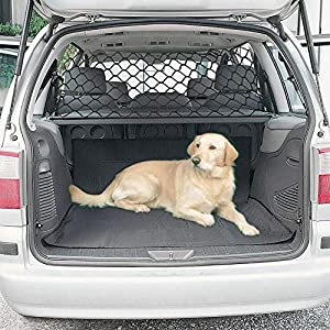 LPY-Pet Net Vehicle Safety Mesh Dog Barrier SUV/Car/Truck/Van – Fits Behind Front Seats