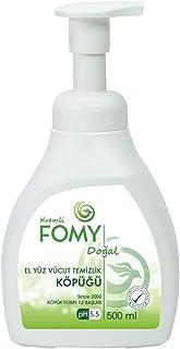 FOMY Doğal Köpük Sabun El Yüz Vücut 500 ml