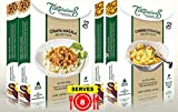 8-SERVING Indian Spice Sets by Flavor Temptations for Beginners, Cook Chana Masala and Potato Curry...