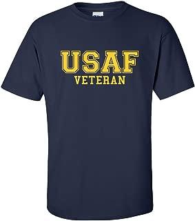 ZeroGravitee USAF Veteran Gold Logo Athletic Short Sleeve T-Shirt