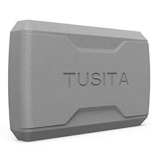 TUSITA Funda para Garmin Striker 5cv,Striker Plus 5cv,Striker 5dv - Case Protectora de Silicona Skin - Accesorios de Mano GPS Navigator