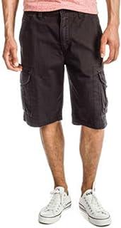 قميص Reuben Cargo قصير من القطن قابل للغسل من Unionbay للرجال
