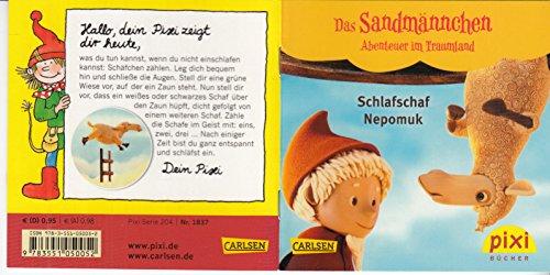 Schlafschaf Nepomuk - Ein Pixi-Buch 1837 - Einzeltitel aus Pixi-Serie 204 Das Sandmännchen - Abenteuer im Traumland