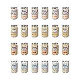 Nutribén Nutribén - Pack de 24 Potitos en Sabores Variados, Desde los 6 Meses, 24 X 235G 5600 g