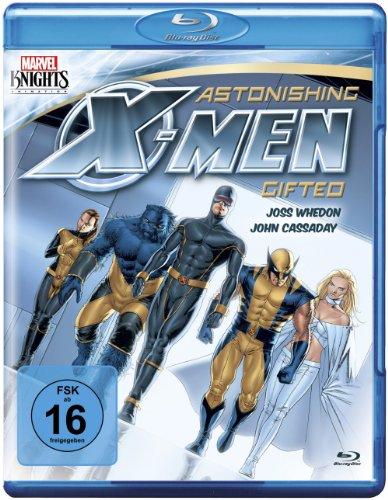 Astonishing X-Men: Gifted [Blu-ray] (Marvel Knights) [Alemania]