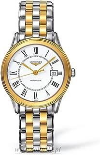 Longines Les Grandes 经典旗舰 L4.774.3.21.7 自动较小尺寸透明表壳背面男式手表