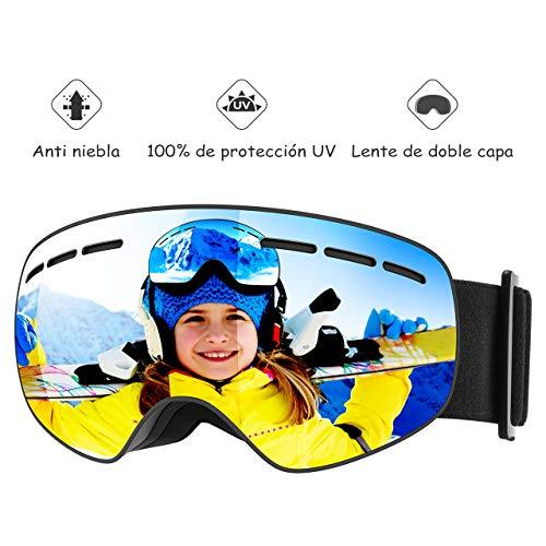 Mpow Gafas de Esquí Niños