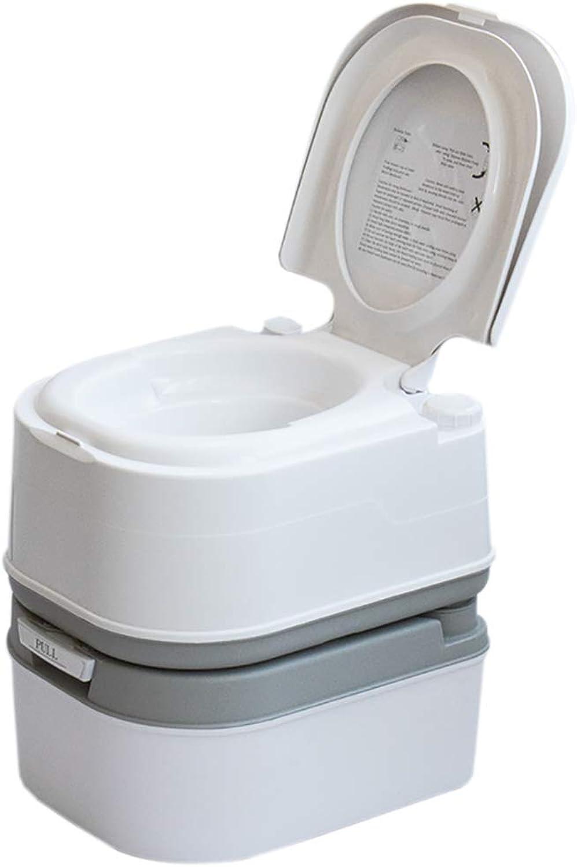 LIU UK Portable Toilet Tragbare Camping WC 5 Gallone Erholung Flush TPfchen Kommode 24LKapazitT Sanitation Versorgung Outdoor Indoor Caravan Stiefele Reisen Wandern