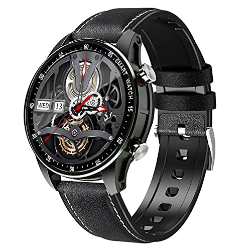 Smart Watch Fitness Tracker with Blood Oxygen, Blood Pressure, Heart Rate Monitor, IP67 Waterproof Smartwatch Fitness Watch Smart Watch for Men Women for Android Ios,Black,Belts