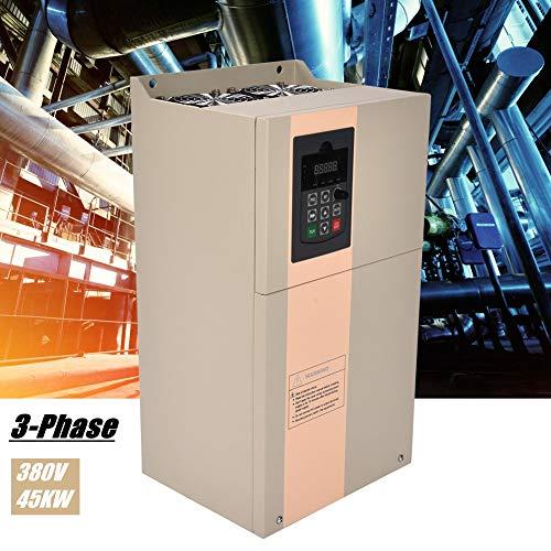 380V 45KW VFD frequentieomvormer, 3-fasen ingebouwde PID-regelaar, frequentieomvormer, 3-fase, toerentalregelaar, inverter motor voor synchroon-synchroonmotoren (45KW)