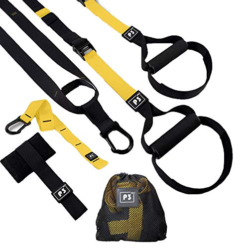 HOOMAGIC Schlingentrainer Set Sling Trainer Set mit Türanker Multifunktionaler Suspension Trainer Set Einstellbar Schlingentrainer für Zuhause und Außenbereich Ganzkörpertraining