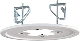 Hampton Bay 18531 383816 5 or 6 inch recessed to surface mount adapter conversion kit white.