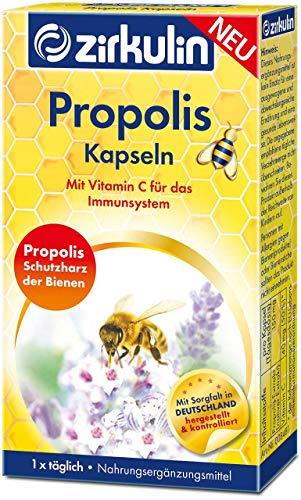 Zirkulin Propolis Kapseln   mit Vitamin C für das Immunsystem (1)