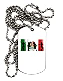 TOOLOUD Mexican Flag - Dancing Silhouettes Adult Dog...
