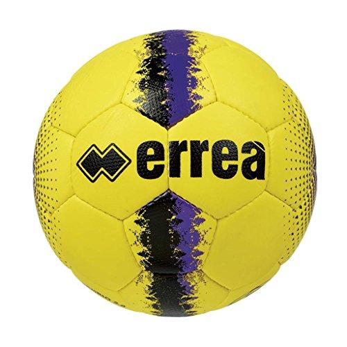 Errea - balón de entrenamiento y partidos, modelo Mercurio 2.0, color amarillo, negro y morado, número 5