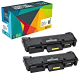 Do it wiser Cartuchos de Tóner Compatibles para Xerox Phaser 3260 3260DI 3260DNI 3260VDNI 3052 Workcentre 3215 3215NI 3225 3225DNI 3225VDNI 106R02777-3000 Páginas - (Negro, Pack de 2)