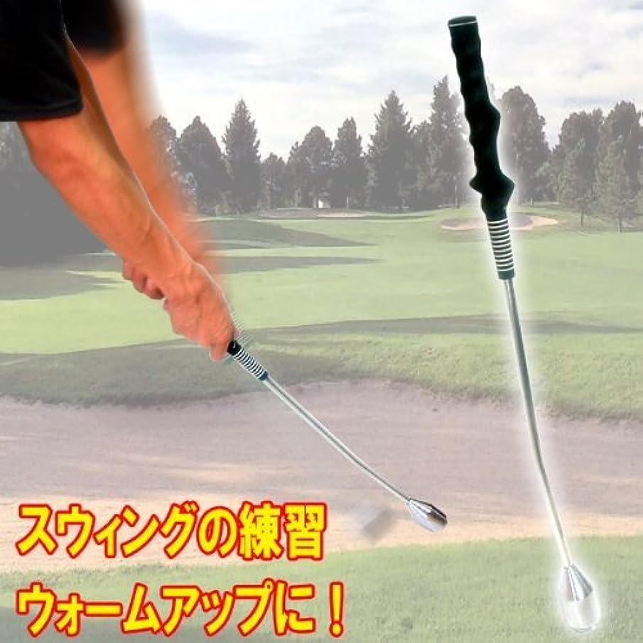 絵ダブルイブニングゴルフスイング練習機 練習とウォームアップ スウィングトレーナー ゴルフ用品