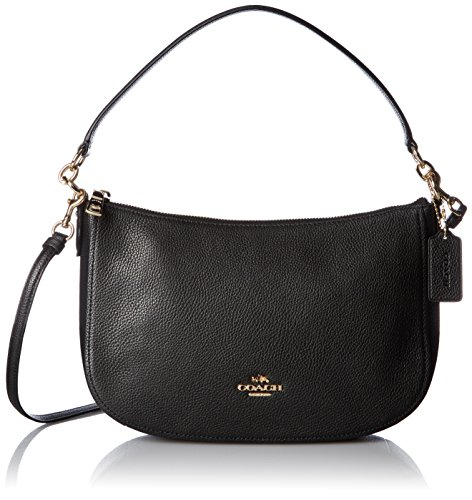 COACH Pebble Chelsea Crossbody Li/Black One Size